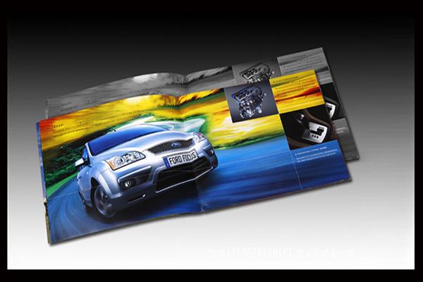 印刷公司画册公司需要注意几个汽车画册设计的细节