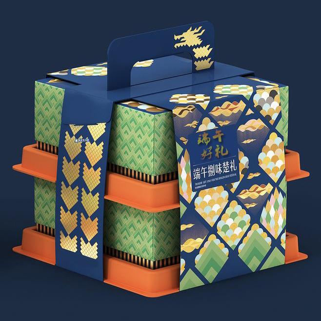 礼品包装盒印刷要精美,色彩搭配很重要