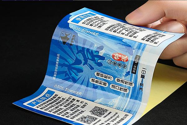 透明不干胶印刷的常见问题